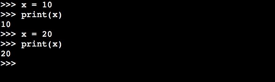 代入演算子による代入の例