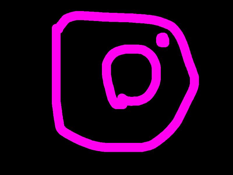 instaのロゴ