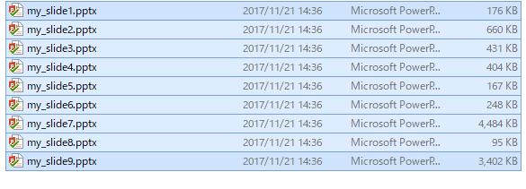 parts files
